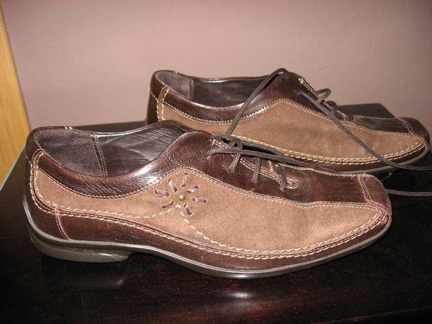 Clarks Skórzane buty półbuty damskie 36. Super stan