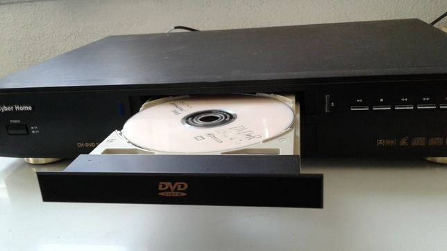 Leitor DVD, Video CD, CD, MP3 - Cyber Home