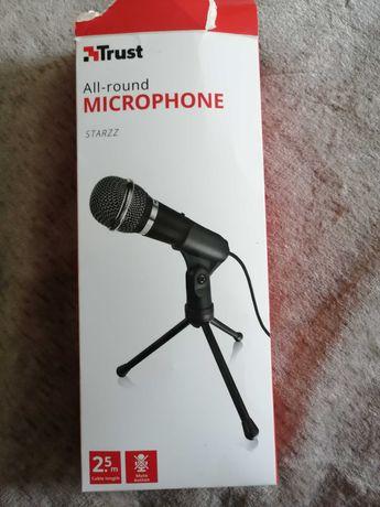 Mikrofon trust z podstawką