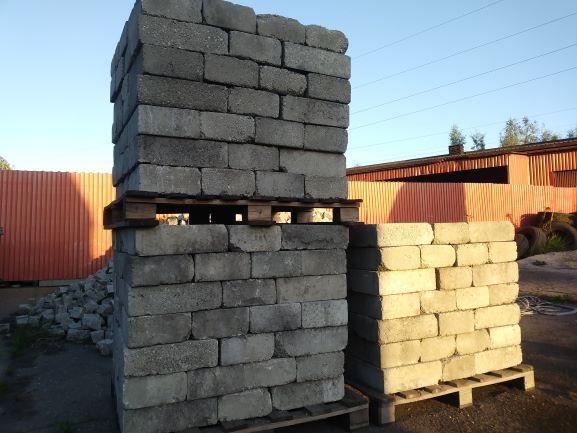 Bloczek betonowy fundamentowy o wymiarach 38x25x12 - 2,90zł Knurów - image 1