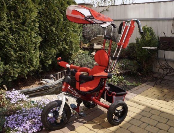 Велосипед трехколесный ARDIS LEXUS TRIKE с ручкой ровер надувные колес