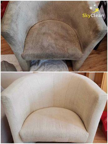 Pranie i czyszczenie tapicerki, kanapy, foteli, krzeseł ,dywanów itp