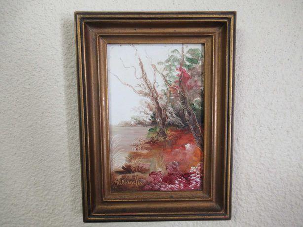 Quadro da pintora Marianela Roque