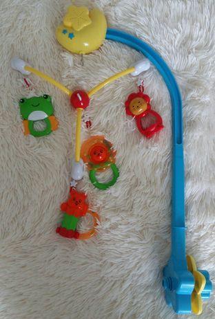 Музичний мобіль/карусель на ліжечко, детская музыкальная карусель