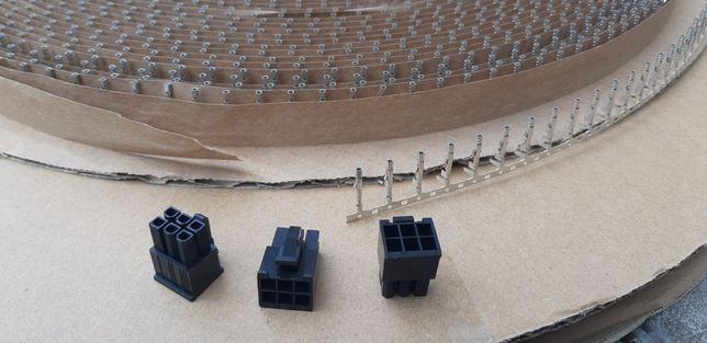 Разъем. Коннектор 6 pin пин +контакты. Серверные БП. Майнинг.Ферма.