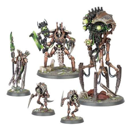 Necrons Royal Court wypraska + podstawki, Warhammer 40k