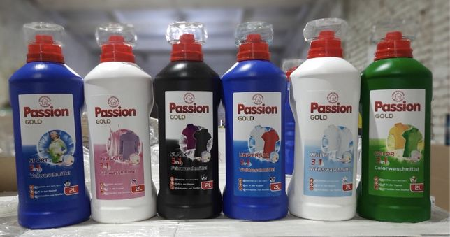 Passion gold гель для прання 3в1  2л