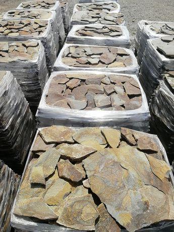 Камінь природний! Соломка, порізка, бруківка, вироби з каменю!