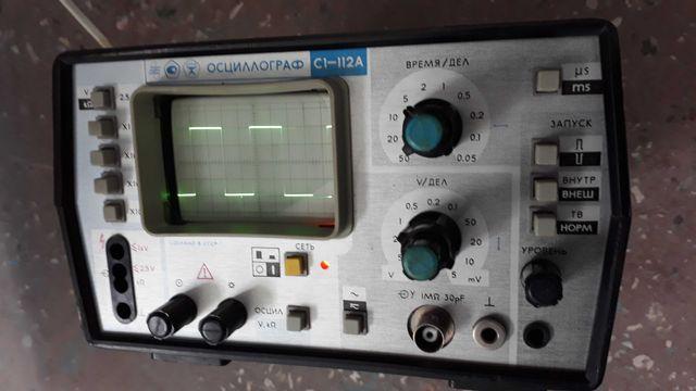 Осциллограф C1-112A