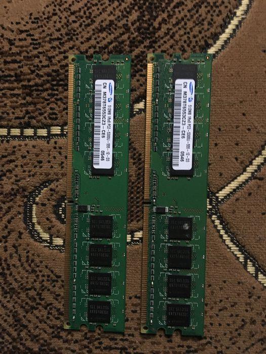 Оперативная память Samsung 2x512 mb 555 МГц Борисполь - изображение 1