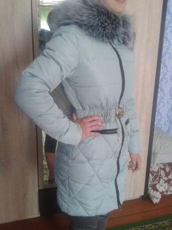 Зимняя куртка для девочки р. 146-156.