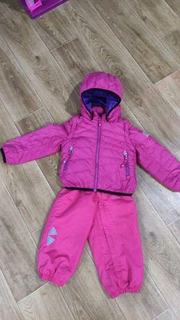 Термо комплект: куртка-пуховик , жилетка, полукомбинезон Reima (рейма)