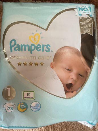 Памперсы 1 PAMPERS premium care