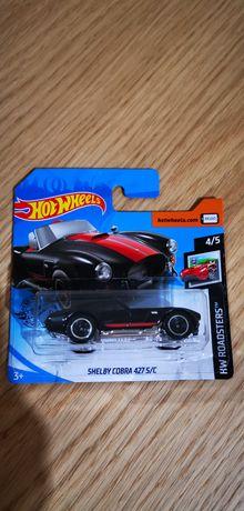 Shelby cobra 427 hot wheels novo com portes incluídos