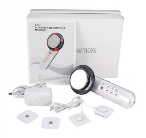 Массажер антицеллюлитный ультразвуковой EMS  3в1 для тела и лица