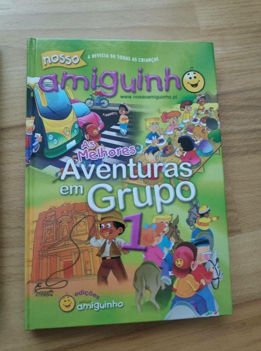 Livro As melhores Aventuras em Grupo 1 e 2 O Nosso Amiguinho Nordeste - imagem 1