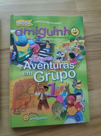 Livro As melhores Aventuras em Grupo 1 e 2 O Nosso Amiguinho