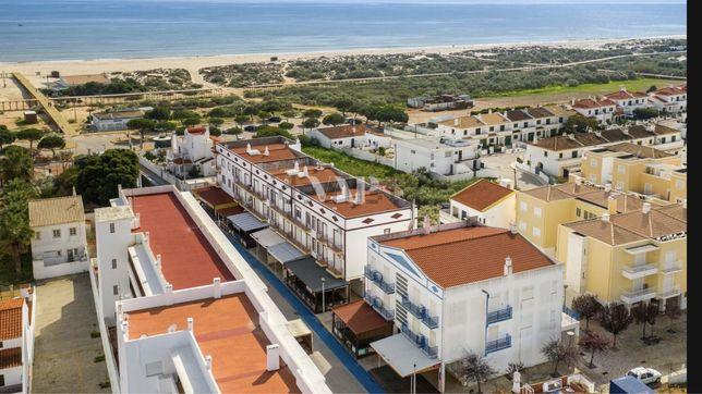 Apartamento T1 a 80m da praia de Altura c/vista mar