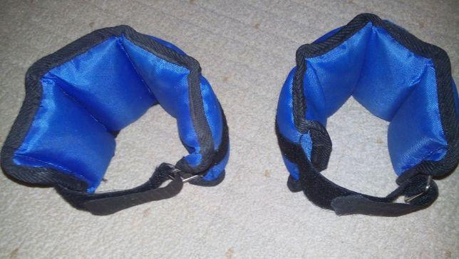 Утяжелители для ног и рук,манжеты для рук и ног по 0,5 кг,грузы на ног
