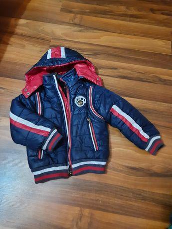 Куртка зимняя на 2-3 года