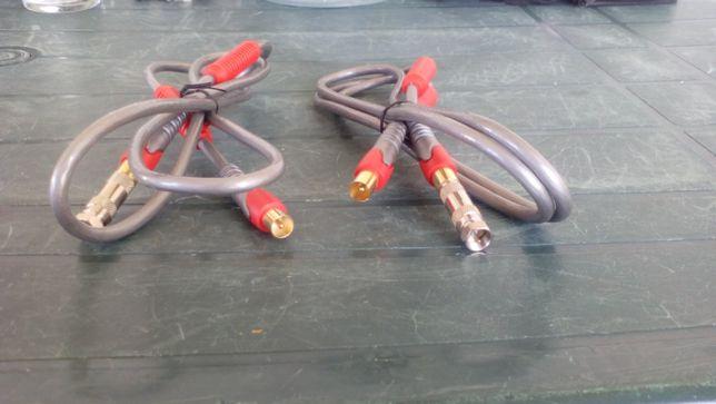 6x cabo de antena - optimo - varios tipos + antena wireless asus