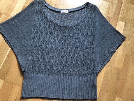 ORSAY, piękny szary sweter, rozm. S, reglanowe rękawy
