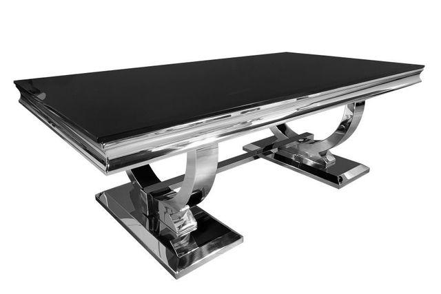 Ława stolik kawowy 130X70 czarny GLAMOUR T 617