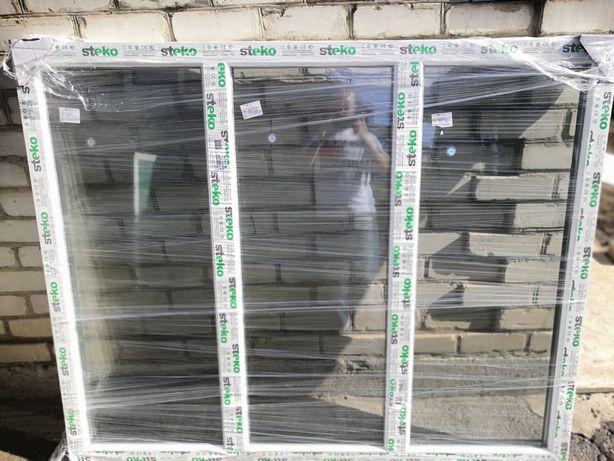 Металопластиковое окно 169х139