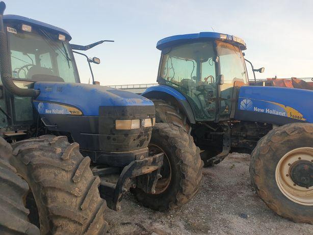 Trator-New Holland TM155 e T6080 para peças
