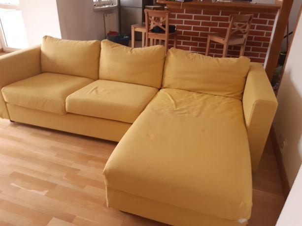 IKEA VIMLE Sofa 3 osobowa, z szezlongiem