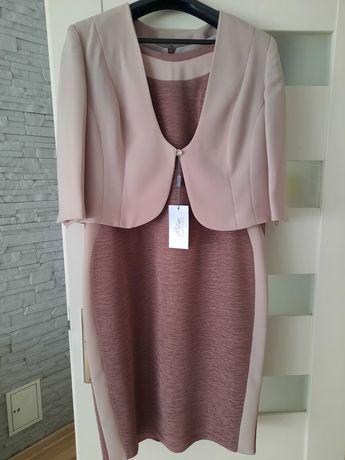 Nowa Sukienka z żakietem rozmiar 48