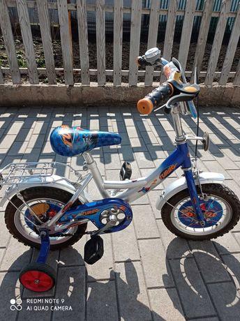 Детский велосипед    TURBO  колеса 12 дюйм.