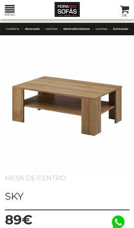 Mesa de centro - FEIRA DOS SOFAS