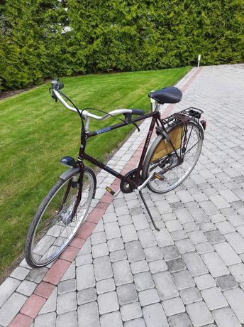Rower z bagażnikiem