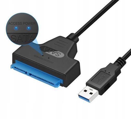 Adapter Przejściówka KABEL USB 3.0 SATA DYSK SSD
