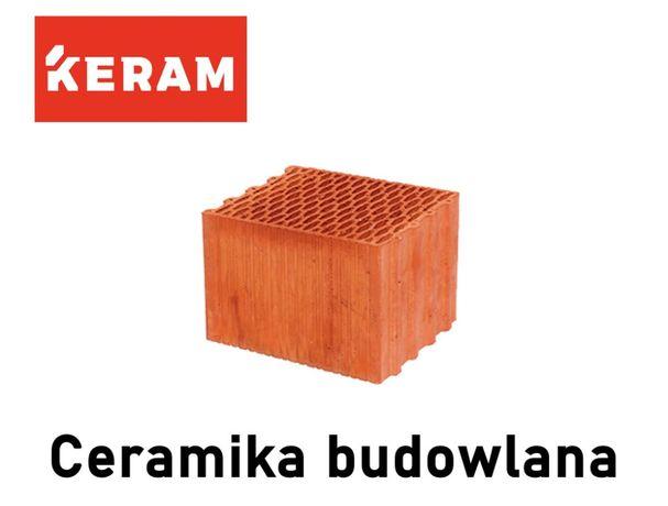 Pustak ceramiczny,pustaki MAX poryzowany 25 P+W 30 P+W Keram promocja