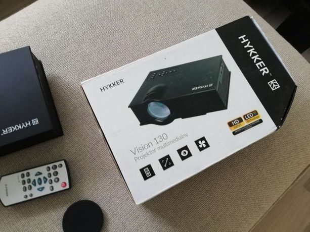 Projektor rzutnik Hykker Vision 130 - jak nowy