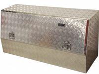 Baús de Ferramenta Vazios em Alumínio para pickup caixa aberta