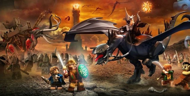 Lego Władca Pierścieni KLUCZ PC Steam