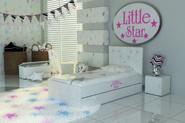 Łóżeczko dla dziecka,łóżko dziecięce z materacem i szufladą.Transport