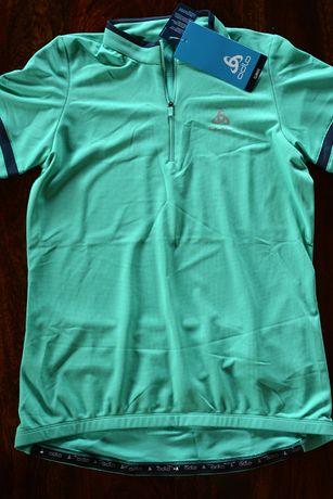 Koszulka rowerowa Odlo Breeze 1/2 Zip - rozmiar M