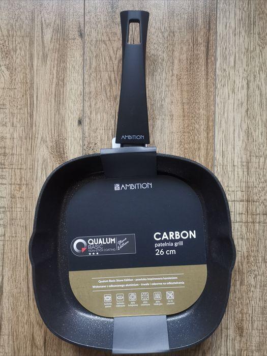 Patelnia CARBON grill indukcja 26 cm Koszalin - image 1