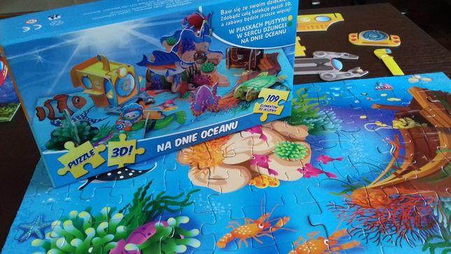 Puzzle 3D Przestrzenne Lubiś Na dnie oceanu