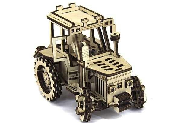 Механічний 3D пазл Handy Games Трактор John Deere