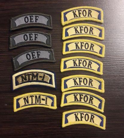 Bundeswehra naszywki pagony odznaki