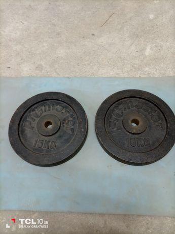 Discos de musculação 15 kg