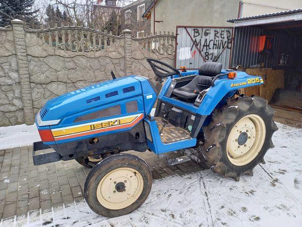 Minitraktor Iseki TU205