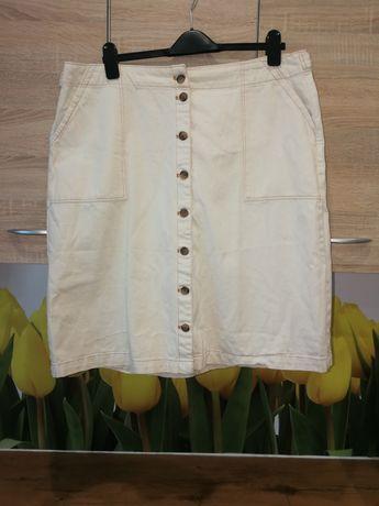 Extra spódnica jeansowa M&S 48 plus gratis piękna bluzka 48