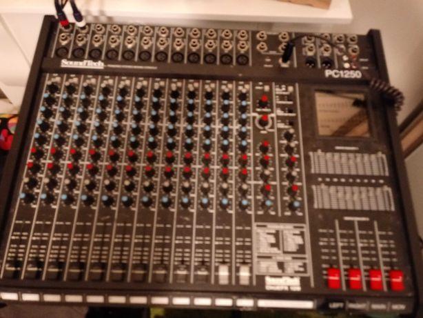 Power mixer SoundTech pc1250 digiefx 128