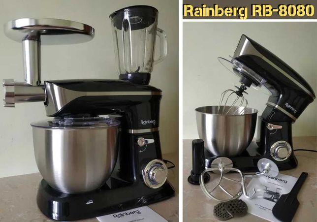 Реинберг мясорубка, кухонный Rb8080 / комбайн Rainberg / пульсация